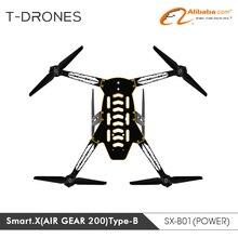SmartX-B AirGear200 helikopter arm self-penguncian prop FPV drone untuk DIY