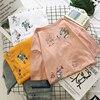 Cartoon T Shirt Women Summer Tops O-Neck Loose 1