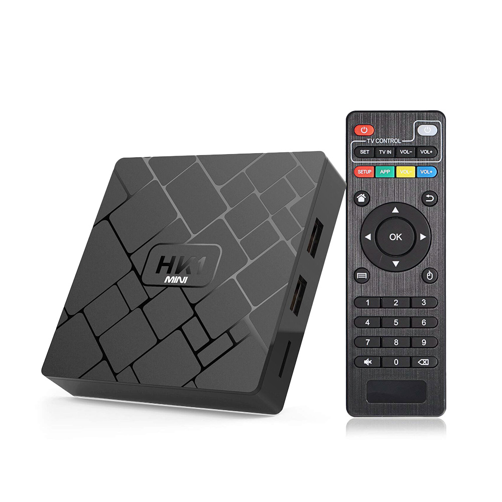 HK1 Mini décodeur 2G 16G TV Box RK3229 Mali-450 Smart TV Box Support 2.4G Wifi HDMI 2.0a 4 K lecteur multimédia pour Android TV Box