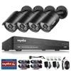 2016 Sannce 4CH 1080P HD CCTV Security Camera System 3 6mm Lens IR Cut Weatherproof Outdoor