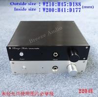 Breeze Audio Match With WeiLiang E3 E4 Headphone Amplifiercircuit 1U Height Aluminum Chassis 2204E