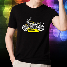 KODASKIN Motorcycle Style 100% Cotton for DUCATI SCRAMBLER Casual Short Sleeve O-Neck T Shirt