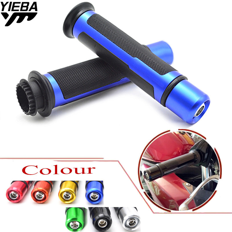 7/822mm Motorcycle handlebar grips & handle bar ends hand cap FOR YAMAHA YZF-R15 YZF600 R1 R3 R6 R6S USA VERSION XJ6 DIVERSION