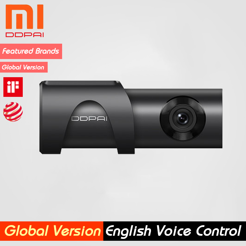 Ddpai Parking-Monitor Recording Dash-Cam Built-In-Storage Xiaomi 24H Mijia 32GB HD 1