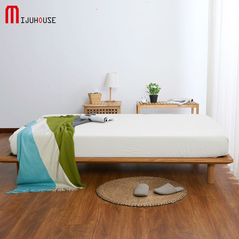 2017 Home Textile Soft Fitted Sheet Sky Blue Mattress Cover <font><b>Bed</b></font> Sheet Fitted Sheet Bedspread 25cm Deep Twin Full Queen King Size