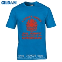 GILDAN DIY Style s t shirts Casual Mass Effect Andromeda Parody i Don't Need An Army, I've Got A Krogan T-shirt