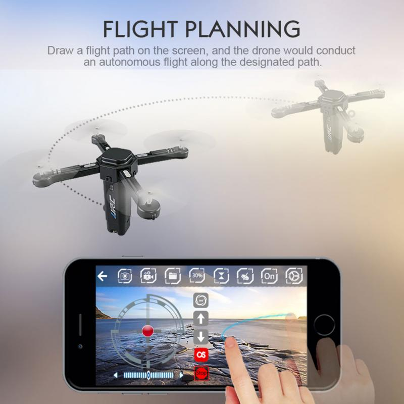 JJR/C H51 Foldable RC Quadrocopter Drone With HD WIFI Camera 720 P Helicopter mini drone rc helicopter quadrocopter headless model drons remote control toys for kids dron copter vs jjrc h36 rc drone hobbies