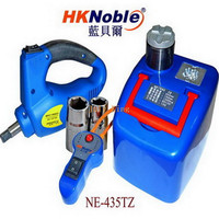 Car Hydraulic Jack With LED Light Electric Wrench Max Top Heavy 1200KG Min Max Height 170