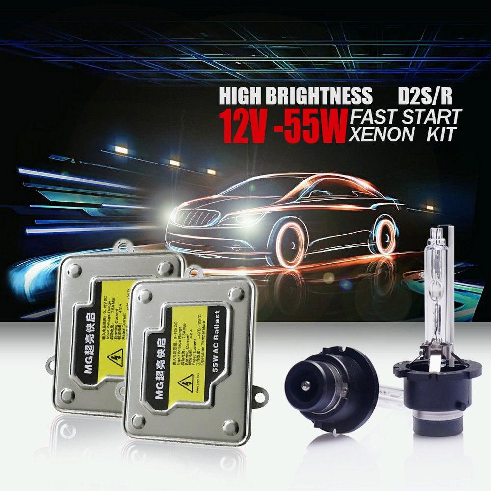 MG MG TF HB3 65w Super White Xenon HID High Main Beam Headlight Bulbs Pair