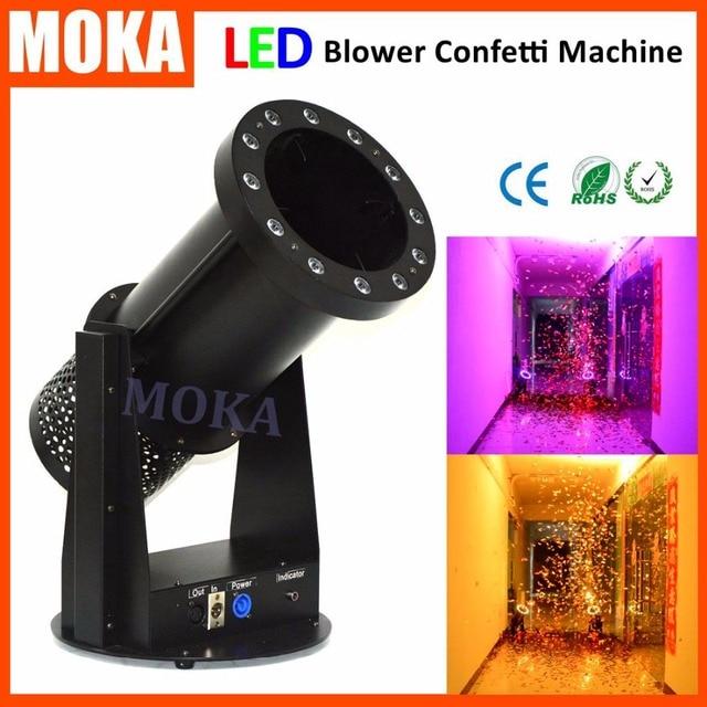 halloween lighting effects machine. 15*3W LED RGB Lighting Effects Stage Confetti Machine,Wedding Blower For Halloween Machine