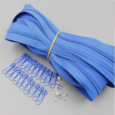 Suoja Blue Color Meter Long Zipper Nylon 3 Duvet Cover