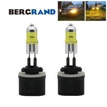2 шт. H27 880 галогенная лампа 12V 37,5 W лампы для передних автомобильных желтый светильник лампы для авто PG13 2700 к туман светильник лампы лучшей видимости