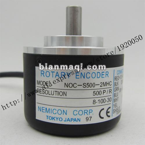 Within The Control Of NOC-S500-2MHC 8-100-30 Outer Diameter Of 50mm 500 Line Encoder Solid Shaft 8mm
