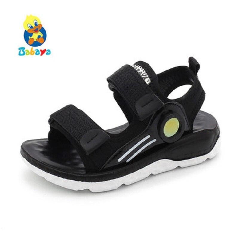 Ehrlichkeit Jungen Sandalen Sommer Turnschuhe Kinder Schuhe Infantil Jungen Strand Sandalen Casual Mode Weiche Flache Schuhe Größe 26-37 Offensichtlicher Effekt