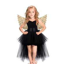 все цены на Baby Girls Tulle Dress Girls Prom Cosplay Tutu Dress Summer Dresses for kids Girls Kids Halloween Christmas Easter Costume онлайн