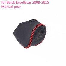 Чехол из натуральной кожи ручной швейный ручной механизм черный подшипниковый Шиф для buick Excelle 2008 2009 2010 2011 2012 2013