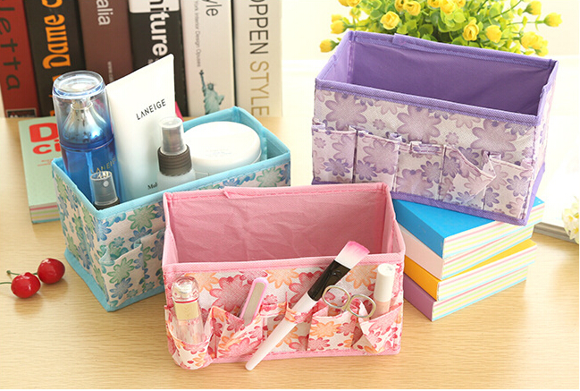 free shipping Cosmetics private storage box cosmetic box jewelry box small objects pouch #5099