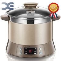 Slow Cooker 220V 1.2L High Quality Electric Cookers Electric Stoves Mini Casserole Crockpots Cooker