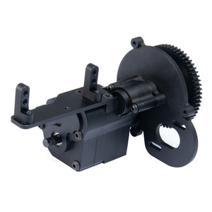 Image 3 - Liga cnc chassis/caixa de velocidades caixa de transferência caixa de velocidades centro caixa de transmissão 2 velocidade para 1/10 axial wraith 90018 rc lagartas