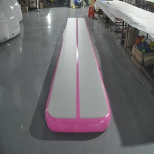 Надувной воздушный трек надувной коврик тренажерный зал 6*1 м (около 20*3 футы) физические упражнения использовать для тхэквондо