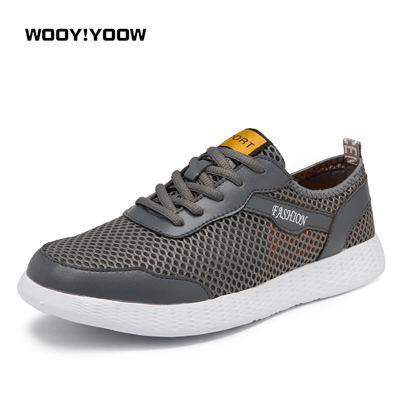 2018 New Fashion Summer Men's Casual Shoes Solid Air Mesh Breathable Light Men Shoes Sweat-Absorbant Anti-Odor Sneakers chilenxas 2017 summer new fashion air mesh shoes men casual footwear breathable slip on light loafers round toe sweat absorbant