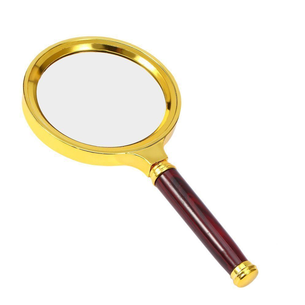 10X Portable 60mm 70cm 80cm 90cm Magnifying Glass Handheld High Definition Reading Eye Loupe Magnifier Glasses for Jewelry 10x magnifying glass 60mm portable handheld magnifier for jewelry newspaper book reading high definition eye loupe glass