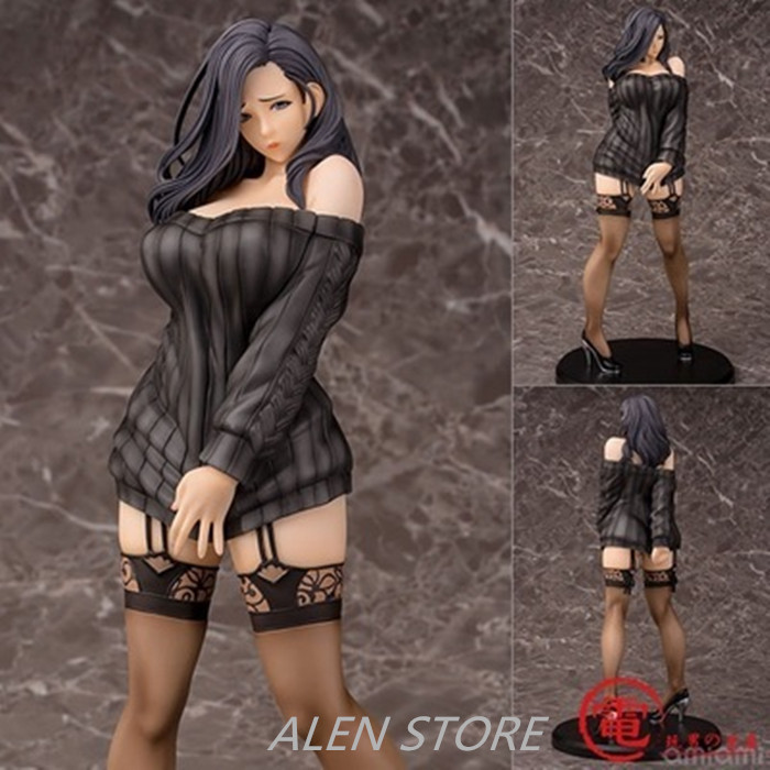 ALEN Anime Sex Figure Doll Daiki Kogyo Oda Non Illustration Shiho Kujo 1/6 Scale PVC Action Figure Collectible Model Toys 30CM novelty 14cm can be opened leather sexy anime figure sex toy pvc action figure collectible figuras anime model toys funny toys