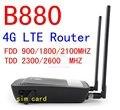 Desbloqueado 4 G lte mifi router HUAWEI B880 lte 4 G WIFI dongle 3 G 4 G lte del módem CAT4 150 Mbps pk b593 e5172 e960 b970 e3131 e5273