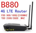 Desbloqueado 4 G lte router HUAWEI B880 lte 4 G mifi WIFI dongle 3 G modem 4 G lte CAT4 150 Mbps pk b593 b970 e960 e5172 e3131 e5273