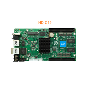Image 2 - 2020 Huidu HD C10 C10C C30 yükseltme HD C15 C15C C35 C35C en 3th nesil Asynch tam renkli LED ekran kontrolü kart