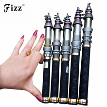 Buy Mini Pocket Size 99% Carbon Fiber Fishing Rod Portable Telescopic Fishing Pole Exclusive Sea Fishing Rod 1.3M 1.5M 1.8M 2.4M