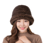 real mink knitted ro...