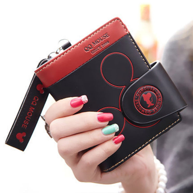 Fashion PU Leather Women Wallet Design Purse 2018 Zipper Hasp Women Wallet For Credit Cards Coin Pocket Carteras Mujer