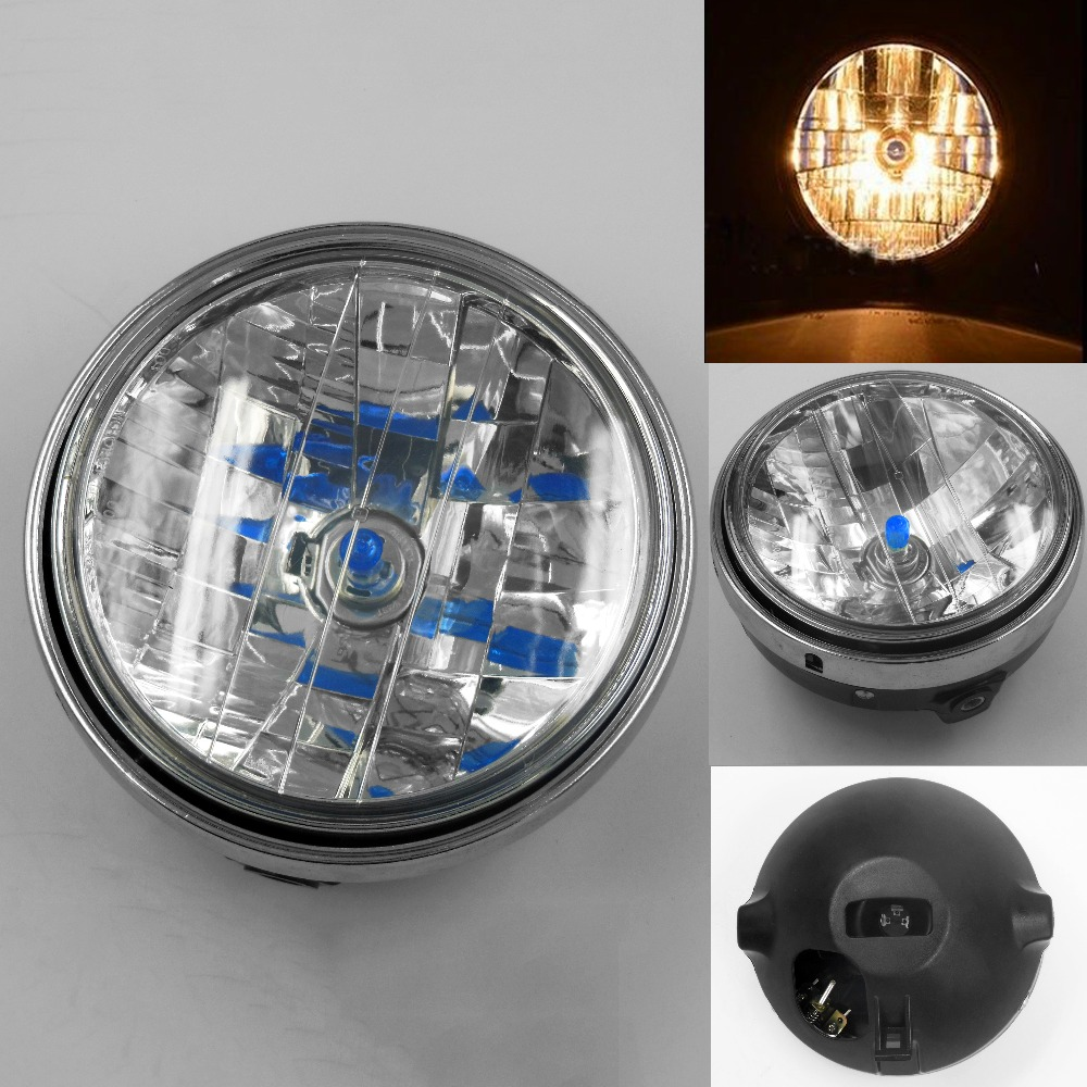 <font><b>Headlight</b></font> Halogen Headlamp For <font><b>Honda</b></font> CB400 CB500 CB750 CB1000 CB1300 VTEC <font><b>VTR250</b></font> image