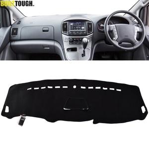 Image 1 - Için Hyundai iLoad iMax H300 i800 H1 H 1 seyahat kargo Grand Starex Royale 2008   2019 Dashmat Dashboard kapak Dash mat Dash kapak