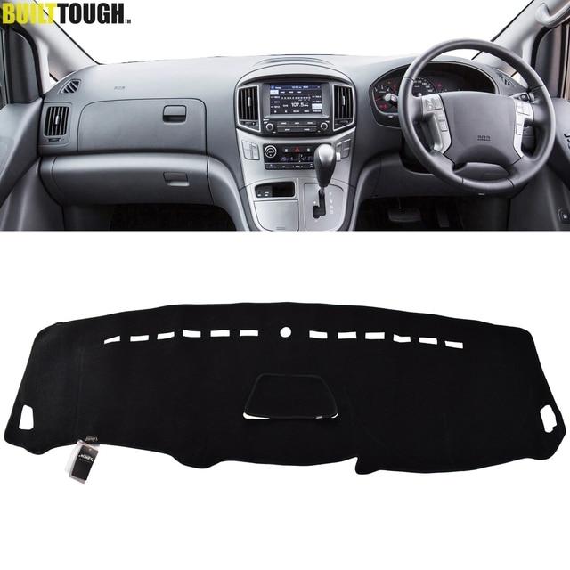 Için Hyundai iLoad iMax H300 i800 H1 H 1 seyahat kargo Grand Starex Royale 2008   2019 Dashmat Dashboard kapak Dash mat Dash kapak