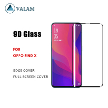 VALAM Tempered Glass Screen Protector For OPPO Find X 9H Hardness Full Cover 3D Curved Edge