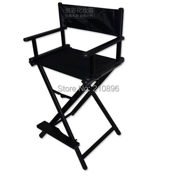 aluminio silla del director plegable de aluminio portable de director silla tela de nylon con marco