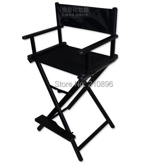 Aluminum Director Chair Portable Foldable Nylon Fabric With Frame Salon Makeup