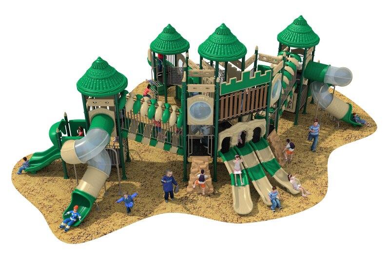 Задний двор аксессуары для игровых площадок натуральный оборудование для уличной игровой площадки Коммерческая большая площадка огромный