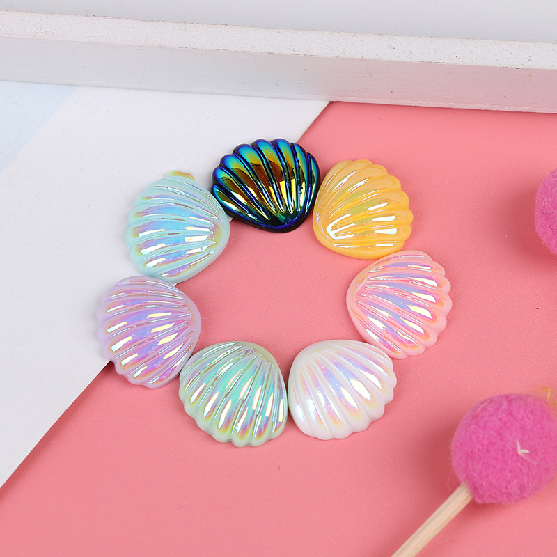 Cute Multicolor Shell Filler For Clear/Fluffy Mud Box Popular Toys Kids Lizun Slime DIY Kit Accessories Children Modeling Clay
