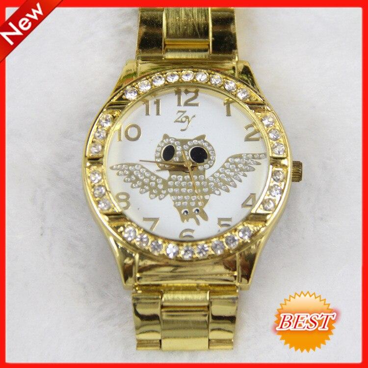 1805c319205 Relogio feminino dourado marcas famosas atmos clock female corrente de ouro  gold watch atmos clock female relogio oriente watch-in Women s Watches from  ...