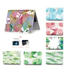 leaf color printing  notebook case for Macbook Air 11 13 Pro Retina 12 15 inch Colors With Touch Bar New