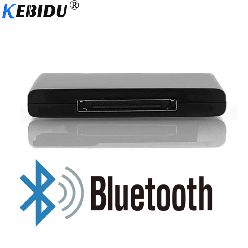 Kebidu Wireless Bluetooth A2DP 30 Pin Receiver Adapter Music Audio For IPod IPhone IPad Speaker