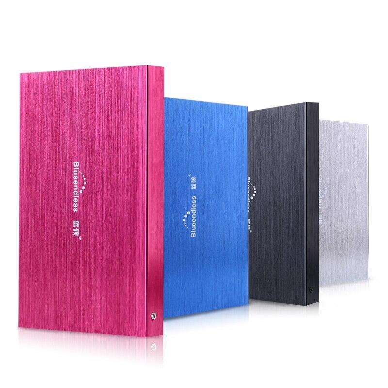 Blueendless tragbare Externe Festplatten 60 gb 160 gb 320 gb für Desktop und Laptop festplatte Kostenloser versand