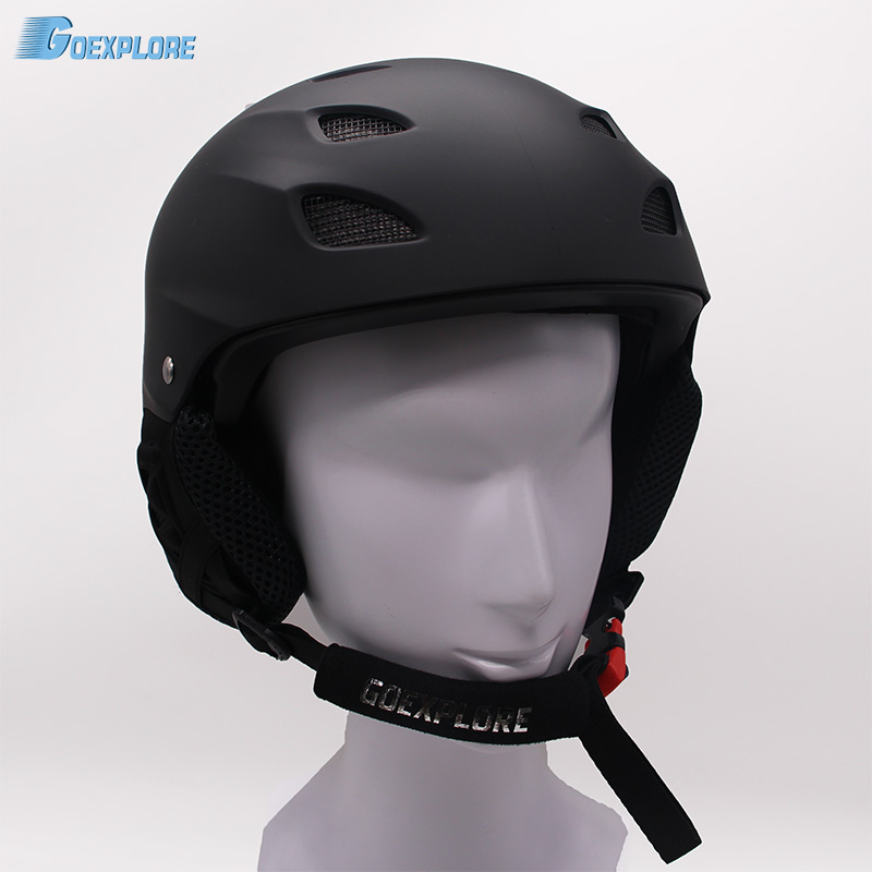 ФОТО New hot sale factory supply Skiing Helmet ABS+EPA Ultralight Ski Helmet Extreme Sports Snowboard Skateboard Helmet M-XL