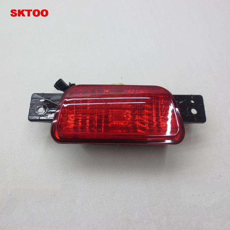 SKTOO Rear Spare Tire Lamp Tail Bumper Light Fog Lamp for Mitsubishi Pajero /Shogun v87 v93 v97 2007-2015 19mm metal rotary push button brass latching 2 or 3 position switch press button rotary 2no 2nc nonc rotate button rotation