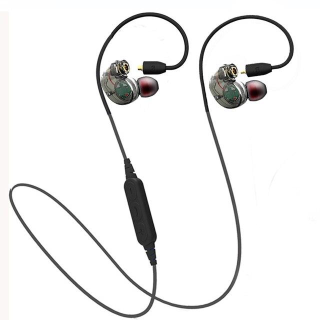 2017 Съемный Беспроводная Связь Bluetooth 4.1 Наушники Спорт наушники Sweatproof Стерео Super Bass Гарнитура для мобильного телефона