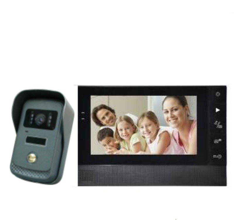 7 TFT LCD Monitor Video Door Phone Intercom Doorbell 7 TFT LCD Monitor Video Door Phone Intercom Doorbell