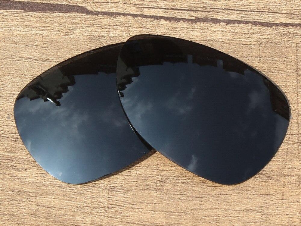 Noir Polarisées verres de Remplacement Pour Criminel lunettes de Soleil  Cadre 100% UVA et UVB Protection 60ace3b0a13d